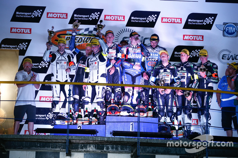 Podium: Superstock