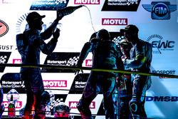 Podyum: #94, GMT94 Yamaha, Yamaha: David Checa, Niccolo Canepa, Lucas Mahias