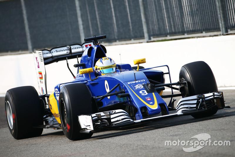 19: Marcus Ericsson, Sauber C35