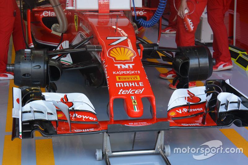Ferrari SF16-H, voorvleugel