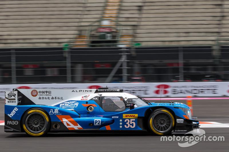 6. LMP2: #35 Baxi DC Racing, Alpine A460 - Nissan: David Cheng, Ho-Pin Tung, Nelson Panciatici