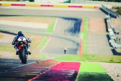 KTM, test di Aragon