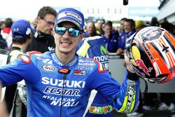 Podium: winnaar Maverick Viñales, Team Suzuki MotoGP