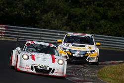 Andreas Weiland, Bert Flossbach, Jörg Viebahn, Porsche 991 GT3 Cup AW