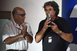 Кармело Еспелета, генеральний директор Dorna Sports, Паоло Сімончеллі