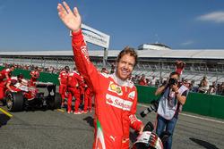 Sebastian Vettel, Scuderia Ferrari gösterisinde