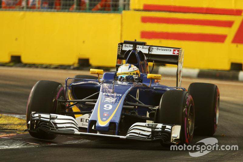 14º: Marcus Ericsson, Sauber C35