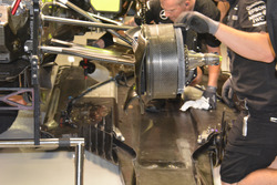 Mercedes AMG F1 W07 Hybrid, brake