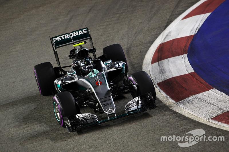 2016 : Nico Rosberg, Mercedes F1 W07 Hybrid