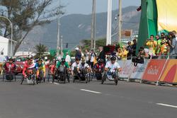 Alex Zanardi at the Paralympic Games