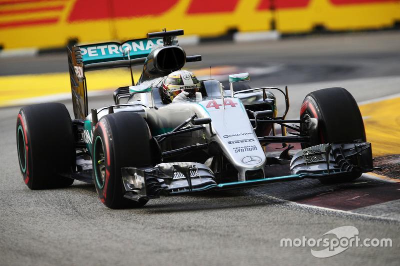 3º: Lewis Hamilton, Mercedes AMG F1 W07 Hybrid