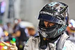Нико Росберг, Mercedes AMG F1 празднует поул