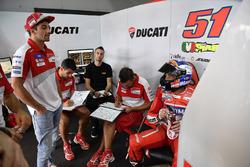 Andrea Iannone, Ducati Team, Michele Pirro, Ducati Team