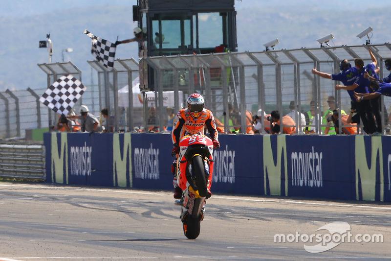 Гран При Арагона. Победа