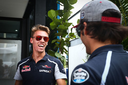 Даниил Квят, Scuderia Toro Rosso и Карлос Сайнс, Scuderia Toro Rosso