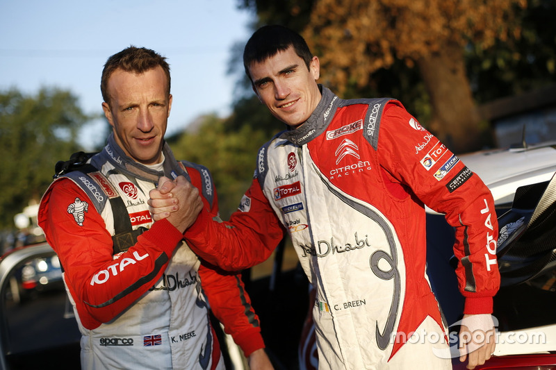 Кріс Мік та Крейг Брін, Citroën DS3 WRC, Abu Dhabi Total World Rally Team