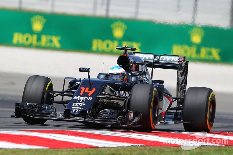 22: Фернандо Алонсо, McLaren MP4-31