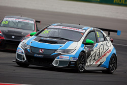 Рафаель Галіана, Target Competition, Honda Civic TCR