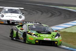#63 GRT Grasser-Racing-Team, Lamborghini Huracán GT3: Rolf Ineichen, Christian Engelhart.