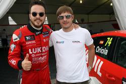 Sergey Afanasyev, SEAT León, Team Craft-Bamboo LUKOIL, mit Alekseyj Dudukalo