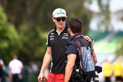 Nico Hulkenberg, Sahara Force India F1 with James Moy, Photographer