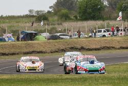 Matias Jalaf, CAR Racing Torino, Sergio Alaux, Coiro Dole Racing Chevrolet, Emiliano Spataro, Trotta Competicion Dodge