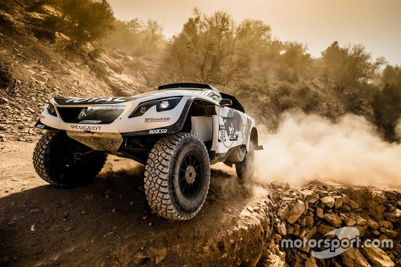 #8: Peugeot 3008 DKR bei der Rallye Marokko