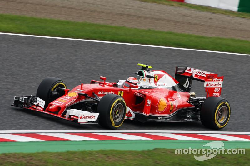 8: Kimi Raikkonen, Ferrari SF16-H  (5 posiciones de sanción incluidas)