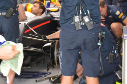 Red Bull Racing RB12: Frontpartie