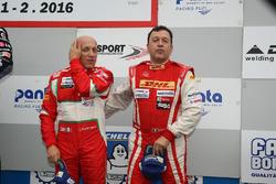 Podyum GA: 3. #24 Scuderia Cameron Glicknhaus SCG 003C: Lorenzo Bontempelli, Beniamino Caccia