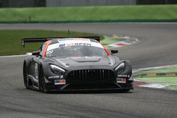 #99 Sports and You Mercedes-AMG GT3: Manuel Da Costa, Miguel Sardinha