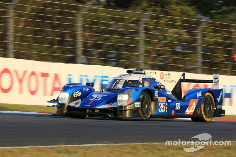 9. LMP2: #35 Alpine A460 - Nissan: David Cheng, Ho-Pin Tung, Paul-Loup Chatin