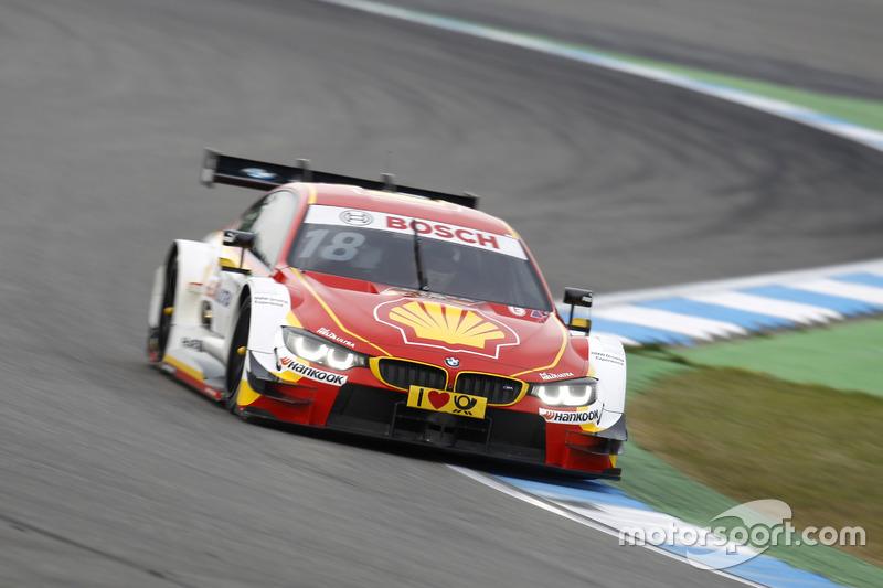 Ausfall: Augusto Farfus, BMW Team MTEK, BMW M4 DTM