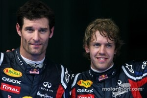 Webber and Vettel had a taste the Buddh circuit on the simulator