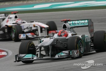 Schumacher is looking forward to China