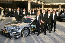 Mercedes drivers: Christian Vietoris Persson Motorsport, AMG Mercedes C-Klasse, Mattias Ekström, Audi Sport Team Abt Audi A4 DTM, Gary Paffett, Team HWA AMG Mercedes C-Klasse, Susie Stoddart, Persson Motorsport, AMG Mercedes C-Klasse, Jamie Green, Team HW