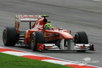 No problems for Massa in P1 & P2