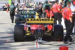 Car of Sebastian Saavedra, Conquest Racing