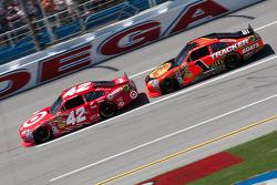 Juan Pablo Montoya, Earnhardt Ganassi Racing Chevrolet, Jamie McMurray, Earnhardt Ganassi Racing Chevrolet