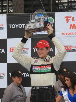 Race winner Conor Daly