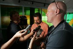 Pre-event press conference: Paul Tracy