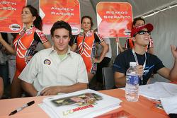 Andrew Ranger and Ricardo Sperafico