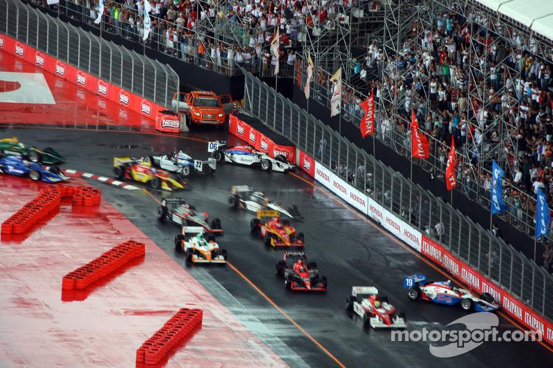 Trouble for Sébastien Bourdais, Dale Coyne Racing