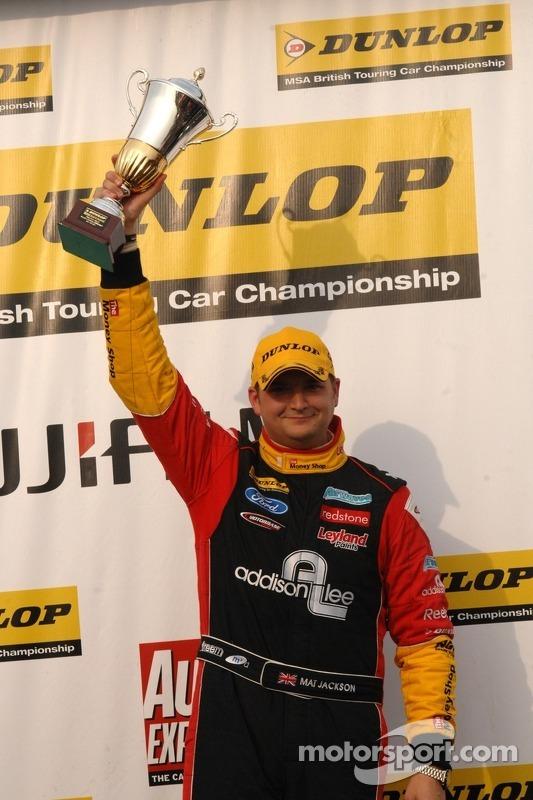 Independent Race winnaar Mat Jackson