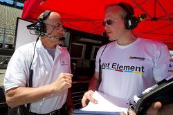Team members for #8 Ferrari of Ft. Lauderdale Ferrari 458 Challenge
