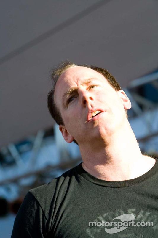 Le chanteur de Bad Religion Greg Graffin
