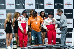 Celebrity race podium with Bucky Lasek