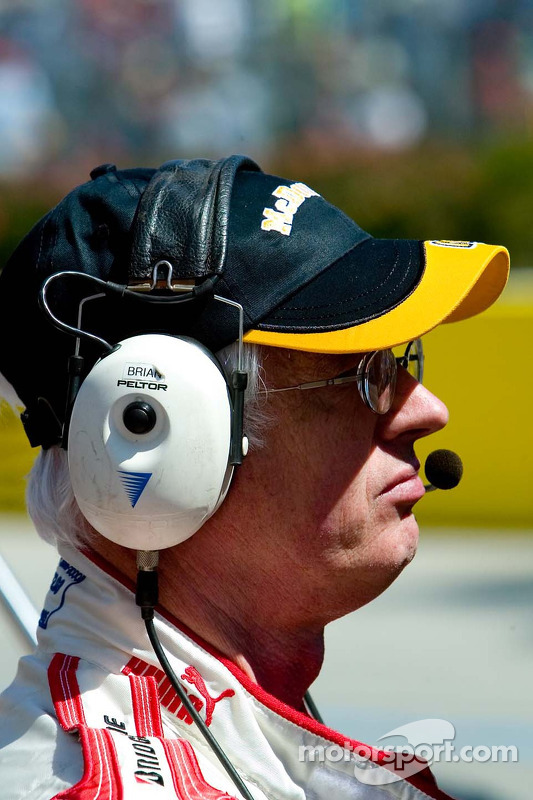 L'équipe pour Newman/Haas racing