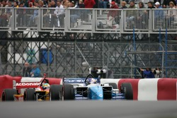 A.J. Allmendinger leads Sébastien Bourdais