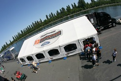 Champ Car hospitality area